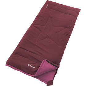 Outwell Champ Sleeping Bag Kids deep red